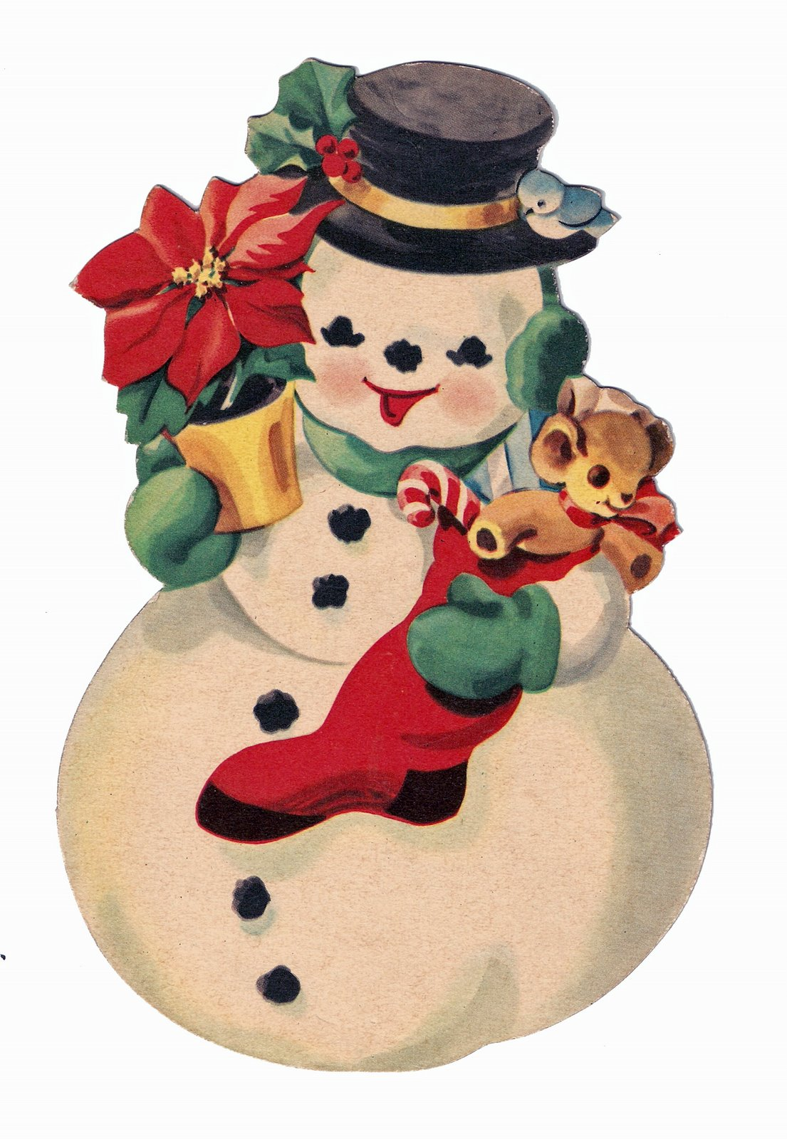 1105x1600 Merry Christmas! Free Victorian Images
