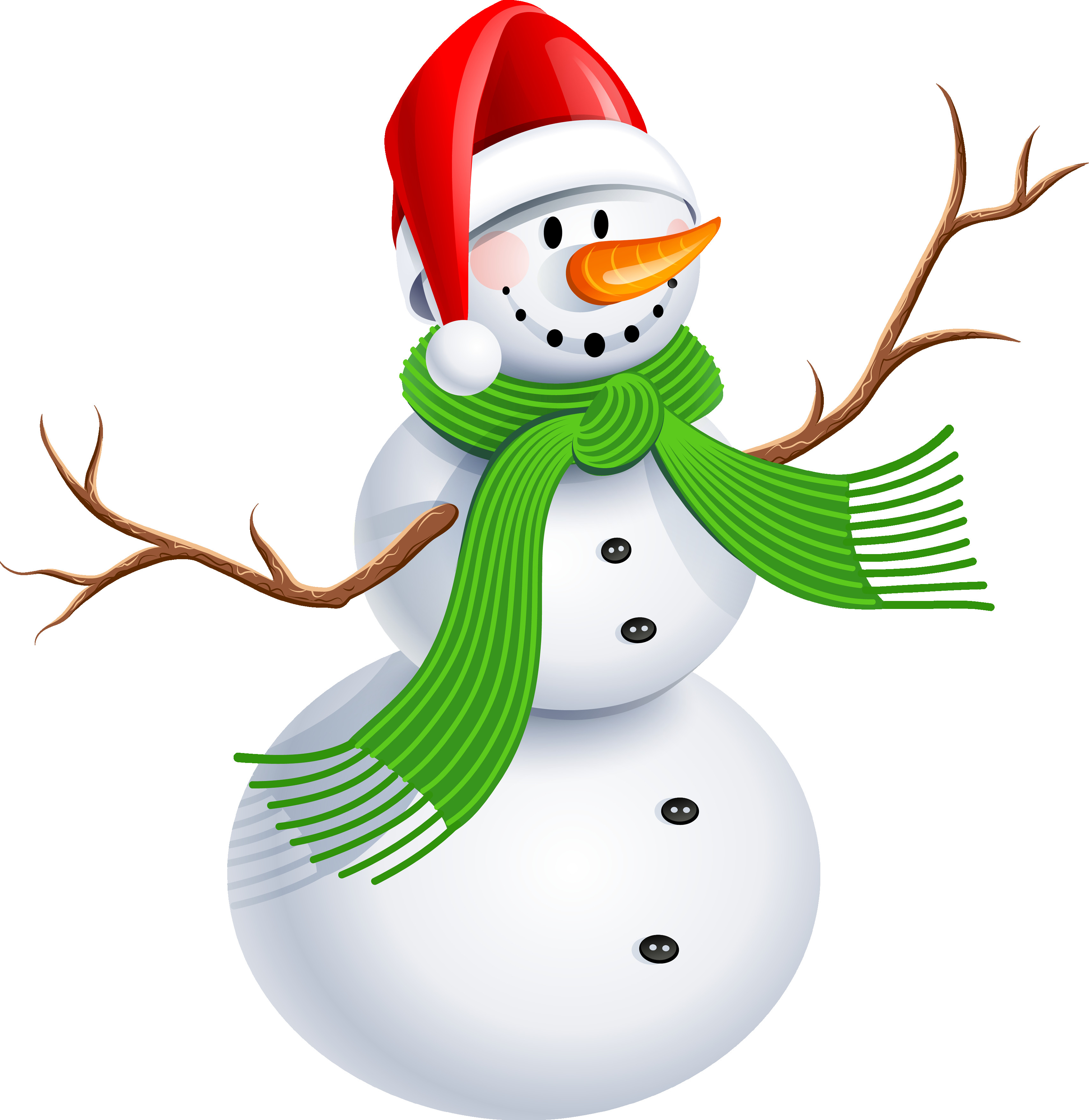 3417x3513 Christmas Snowman Clip Art Free Clipart Best Holidays And Events