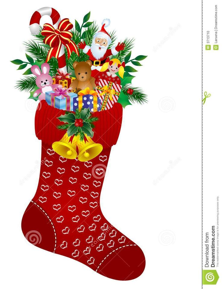 Christmas Socks Clipart