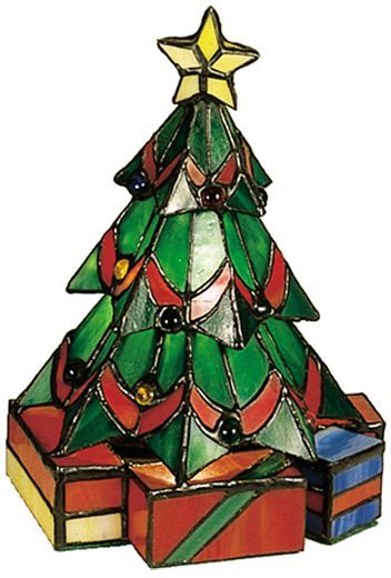 352x520 Christmas Tree Stained Glass Holiday Xmas Orna Trees