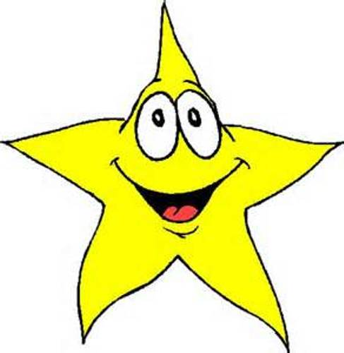 487x500 Image Of Star Clipart