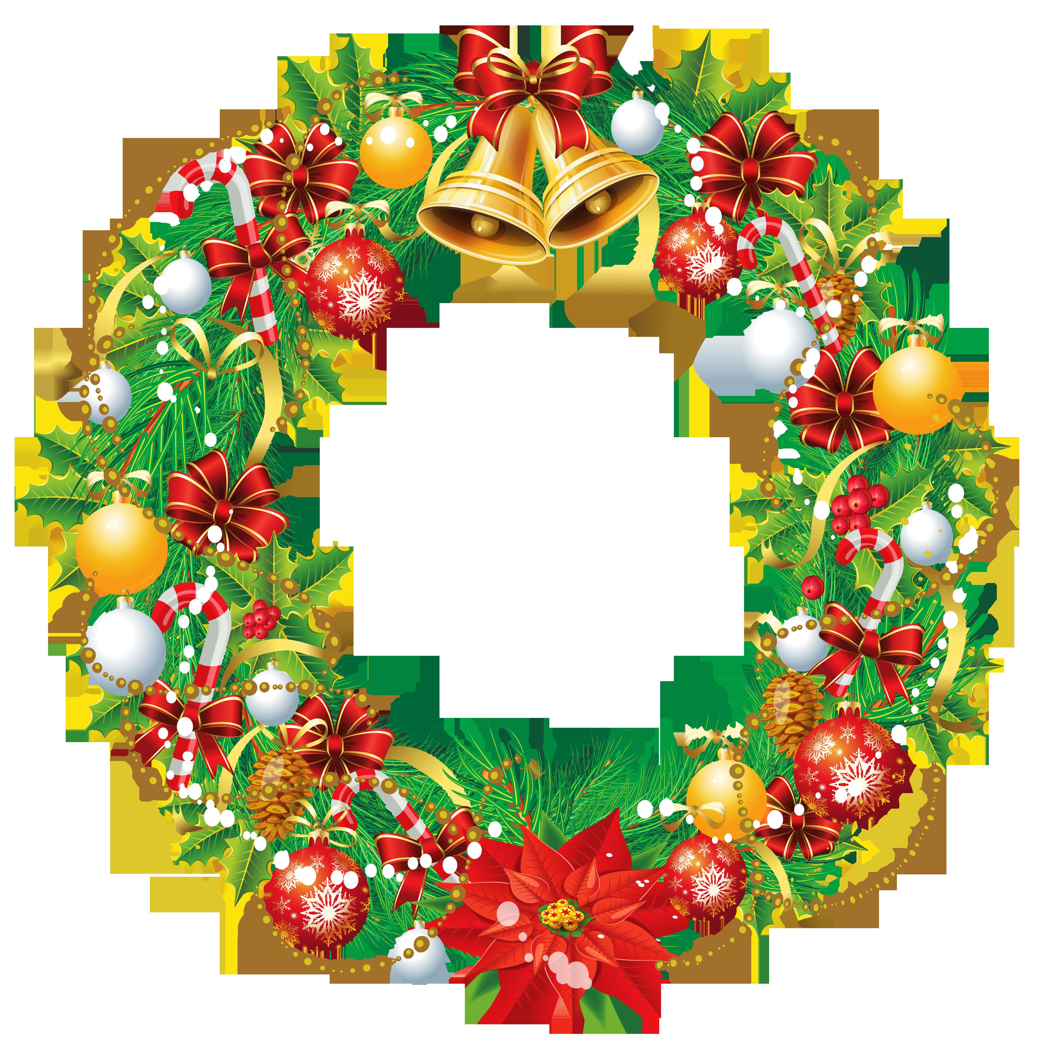 3500x3506 Transparent Christmas Wreath Png Clipart Pictureu200b Gallery