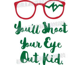 340x270 A Christmas Story Svg Vector Quote. Cute For Many Uses! Cricut