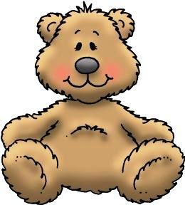 Image result for free teddy bear clip art