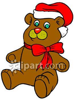 263x350 Christmas Teddy Bear