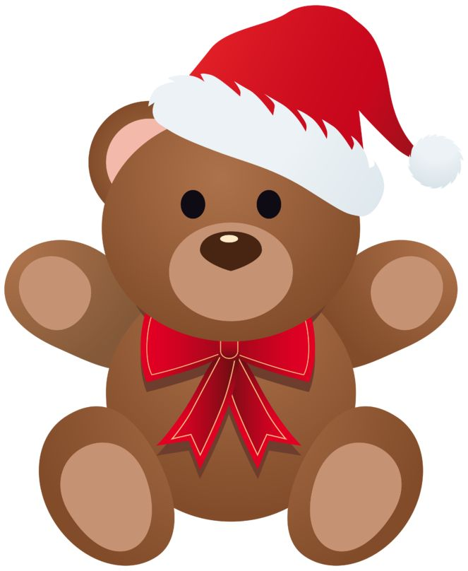 663x808 Collection Of Christmas Teddy Clipart High Quality, Free