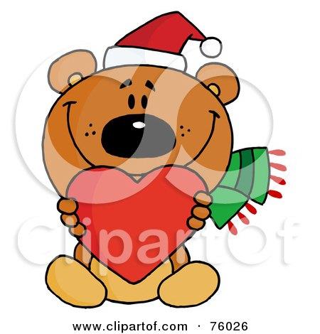 450x470 Clipart Valentine Teddy Bear Holding A Heart