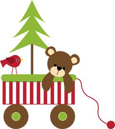 236x264 Christmas Teddy Bear Clip Art Christmas Music Crafts And Other