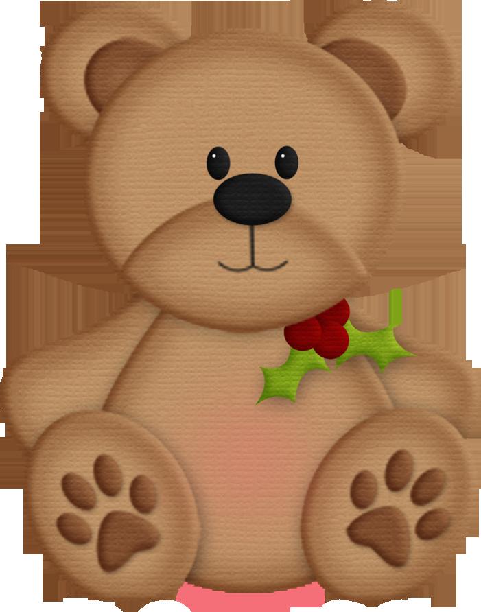 701x892 Christmas Teddy Bear Clip Art Imagenes Teddy Bear