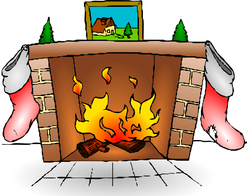790x627 Chimney Clip Art For Christmas Fun For Christmas