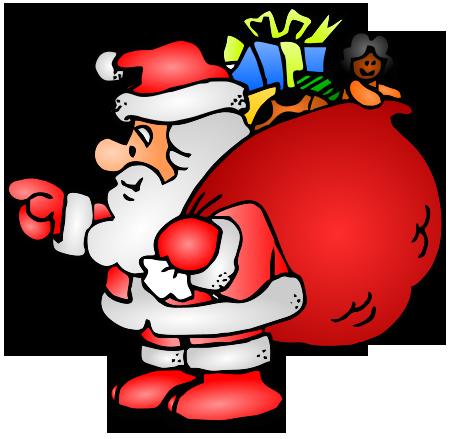 453x439 Christmas Santas Workshop Clip Art