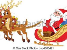 220x165 Christmas Sleigh Clipart Santas Sleigh Filled With Christmas Toys