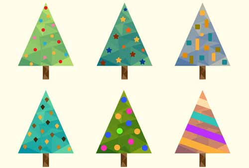 500x338 Christmas Tree Clip Art 30 Sets Of Free Vector Graphics