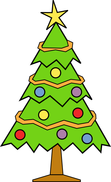 360x591 Christmas Tree Clip Art Png Find Craft Ideas