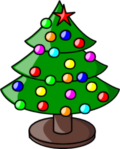 240x298 Christmas Tree Clip Art Free Vector 4vector