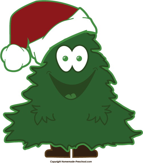 502x570 Collection Of Happy Christmas Tree Clipart High Quality