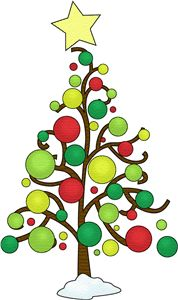 178x300 Modern Christmas Tree Clip Art Fun For Christmas