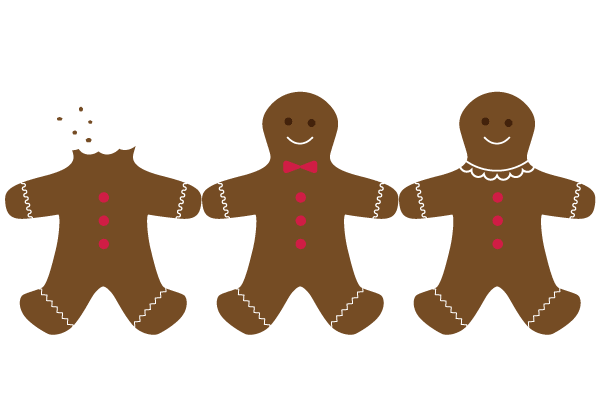 600x400 Free Gingerbread Man Clipart Pictures