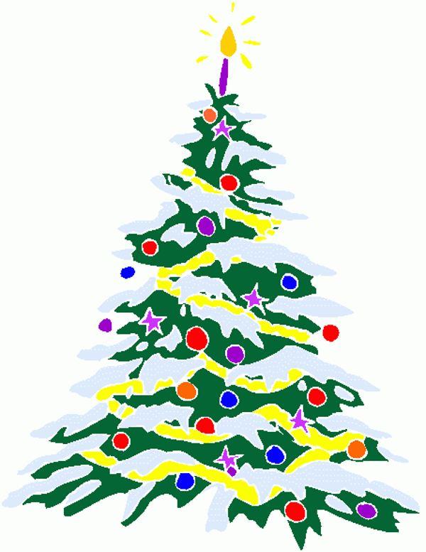 600x777 White Christmas Tree Images