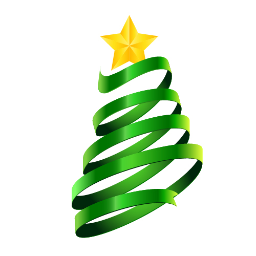 500x500 Collection Of Abstract Christmas Tree Clipart Png High