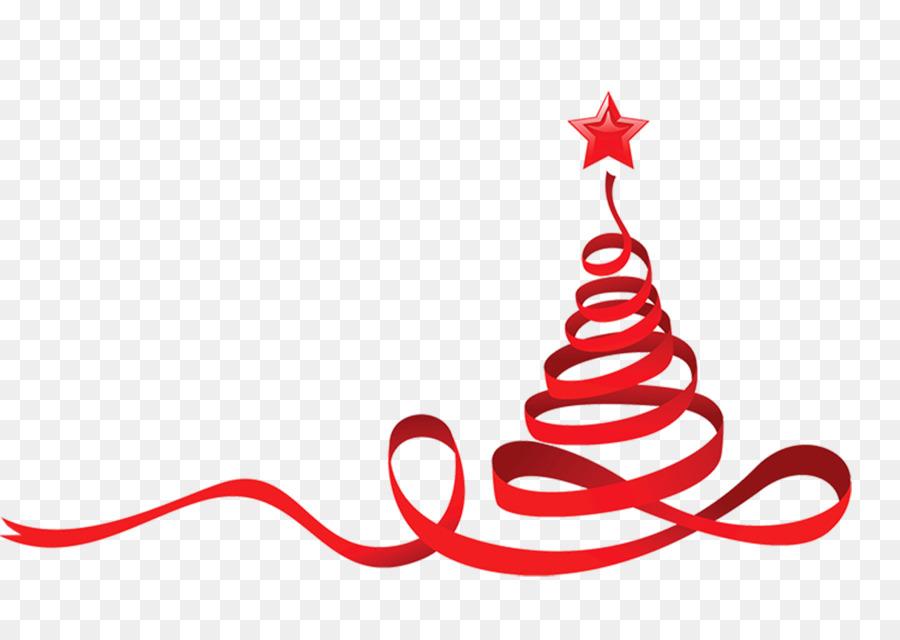 900x640 Christmas Tree Ribbon Clip Art
