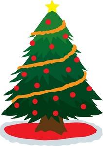 212x300 Free Christmas Tree Clipart Image