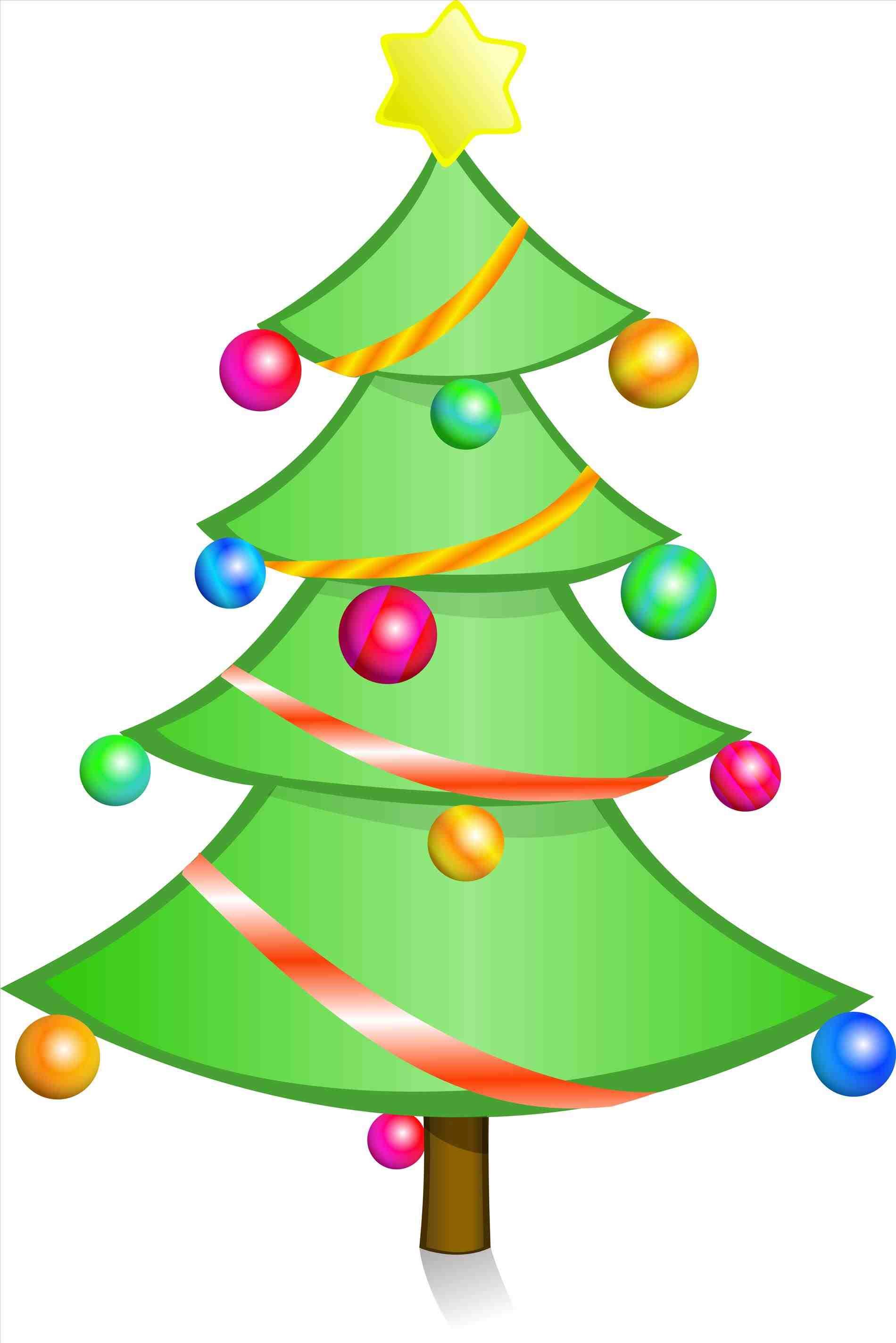 1900x2846 Christmas Tree Lights Clipart Christmas Tree Lights Clipart Art