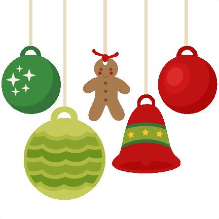 Christmas Tree Ornaments Clipart