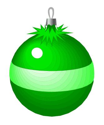 335x400 Green Christmas Ornament Clipart Fun For Christmas