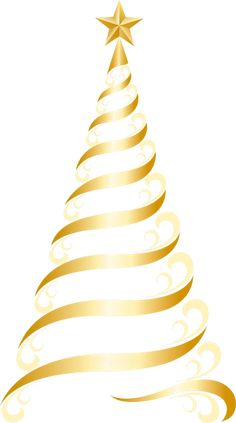 236x423 Transparent Christmas Gold Tree PNG Picture BoA 1 4 E Narodzenie