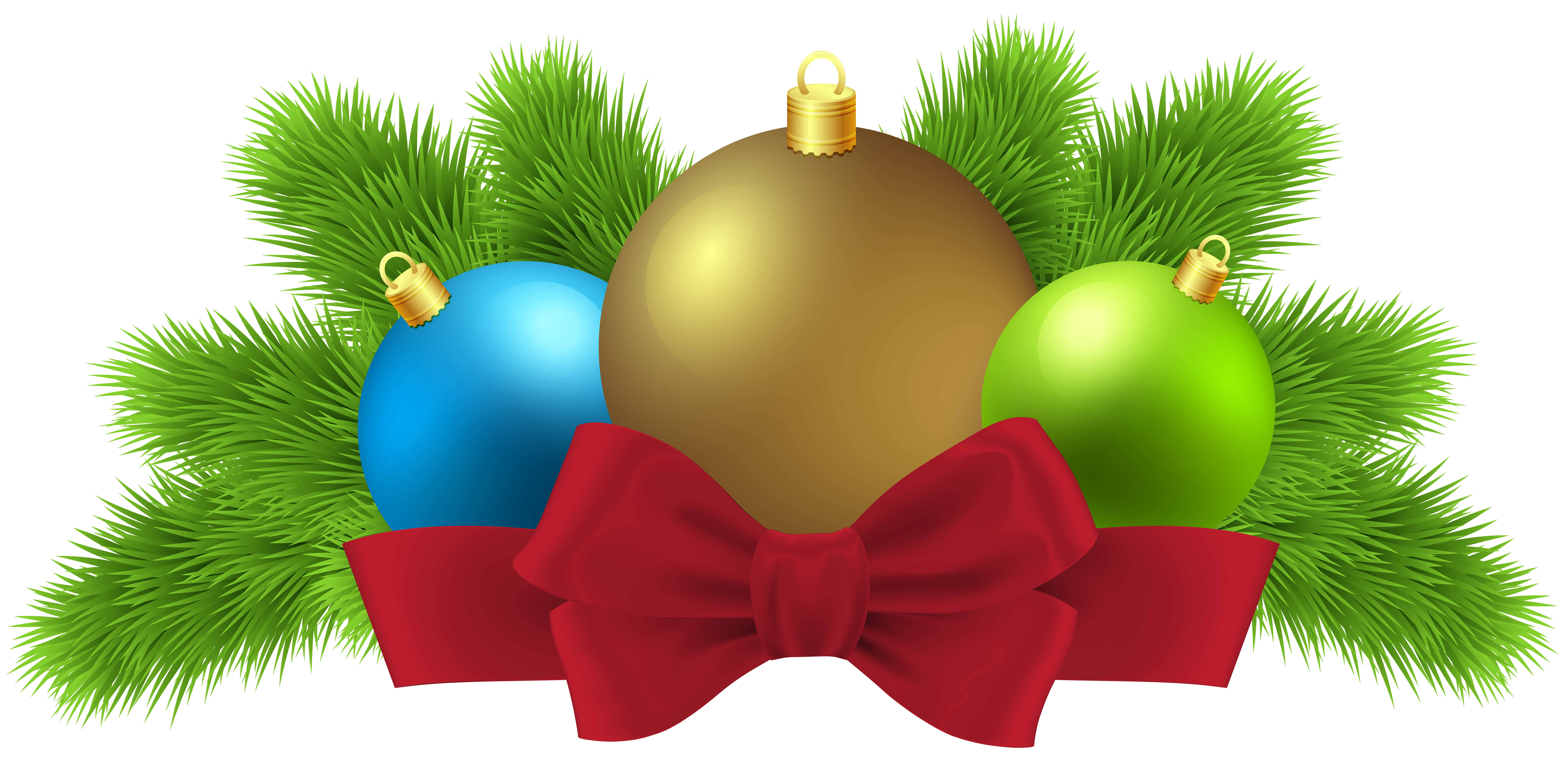 8000x3881 Christmas Balls Deco Png Clip Art Imageu200b Gallery Yopriceville
