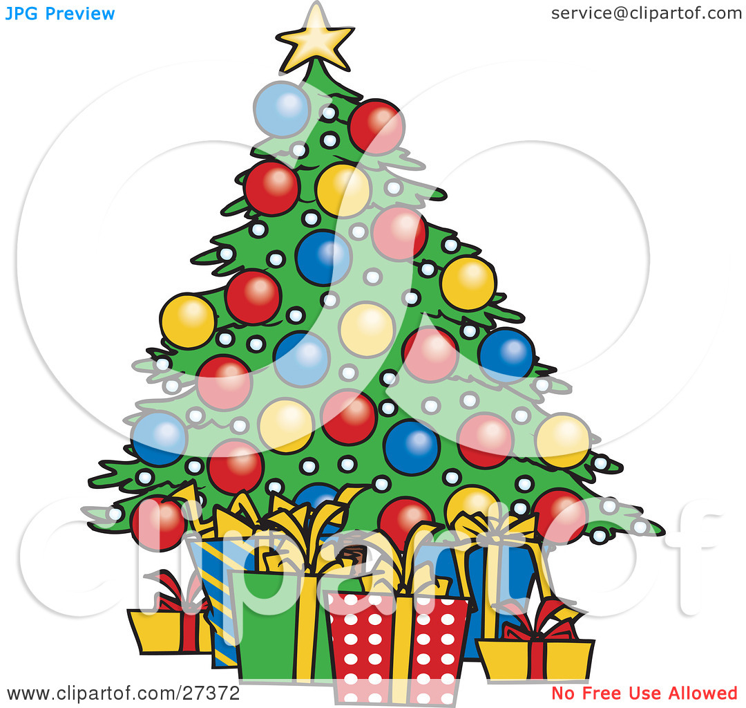 1080x1024 Christmas Tree With Presents Clip Art Best Cool Craft Ideas
