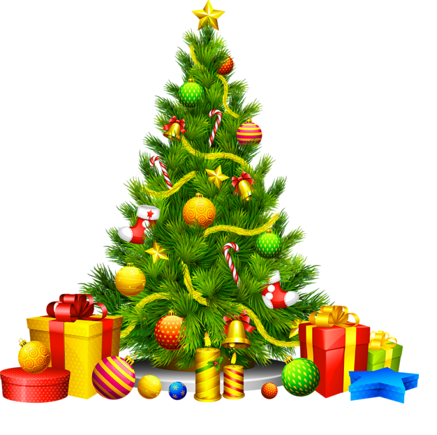 626x623 Collection Of Christmas Tree Clipart Free High Quality, Free