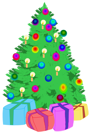 christmas tree with presents clipart at getdrawings com free for rh getdrawings com  christmas tree with gifts clipart