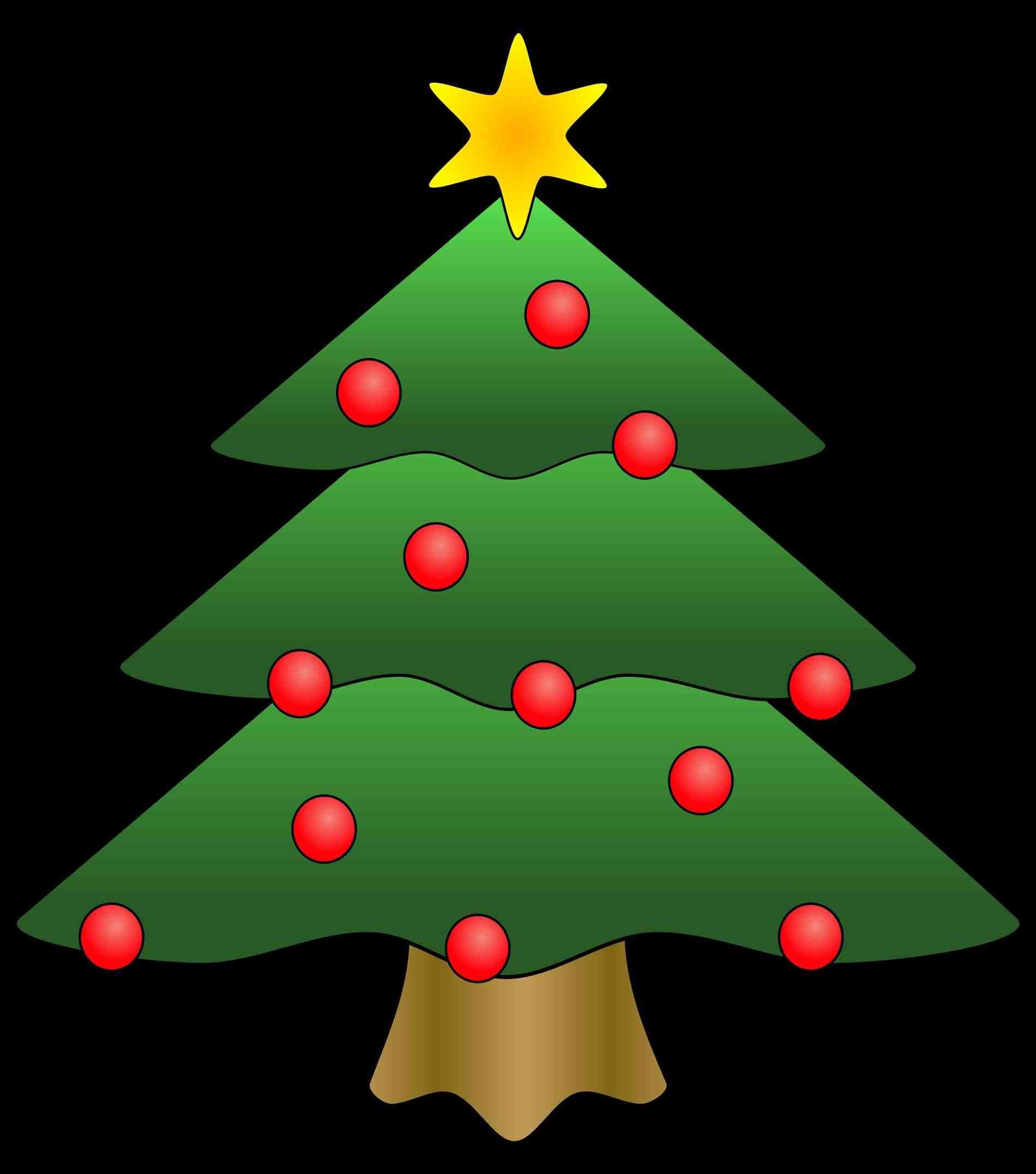 1900x2153 New Post Christmas Tree With Presents And Santa Clip Art Xmast