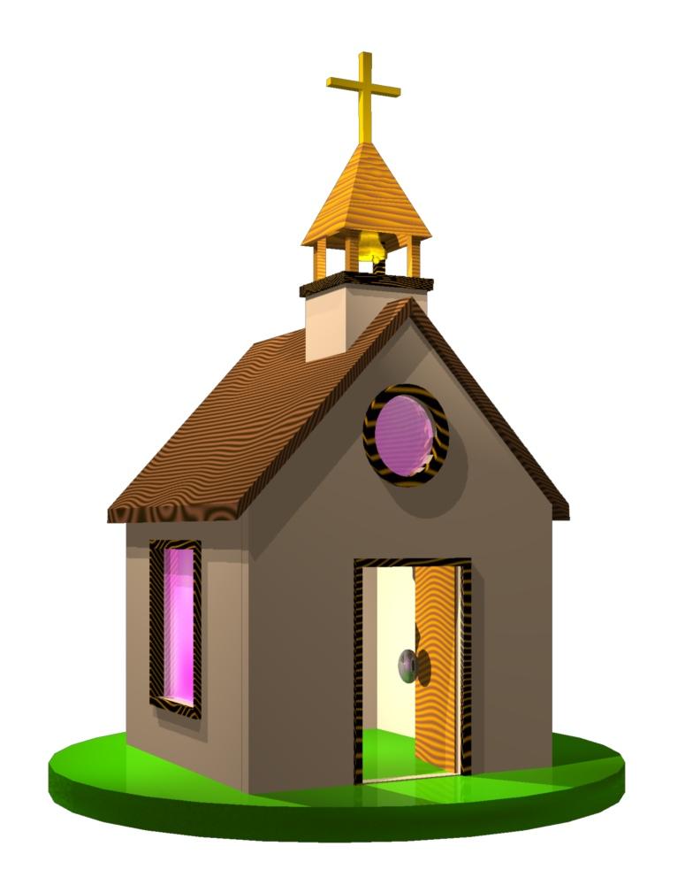 775x1000 Village Church Clipart