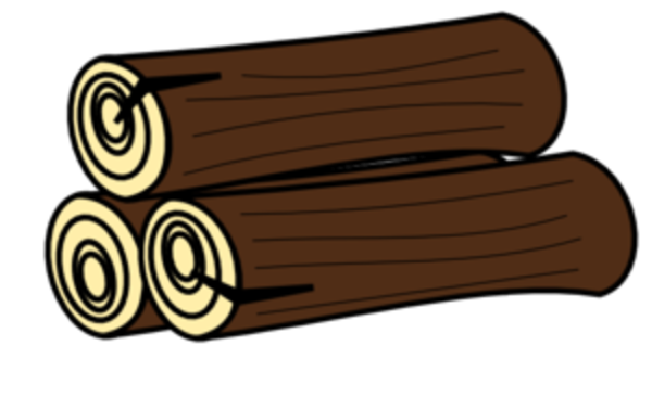 600x366 Free Log Clipart Pictures