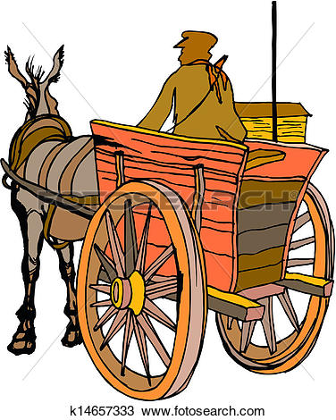 376x470 Wagon Clipart Medieval 4038670