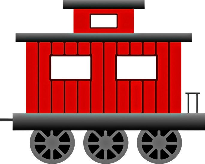 684x547 Train Image, Train Poster, Caboose Image, Train Wall Art, Train