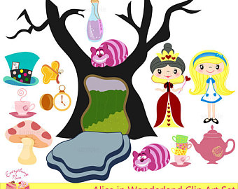 340x270 Alice Wonderland Clipart 30 Png 300 Dpi Alice