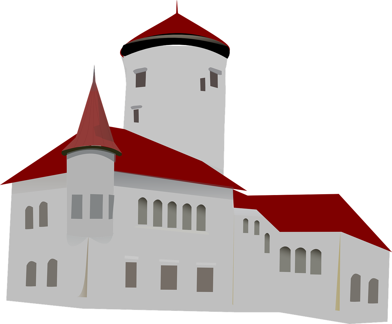 1280x1058 House Monastery Church Clip Art