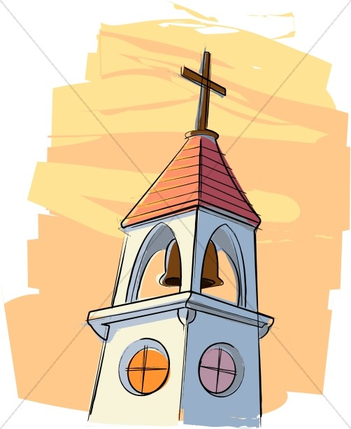502x612 Call To Worship From The Church Bell Church Clipart
