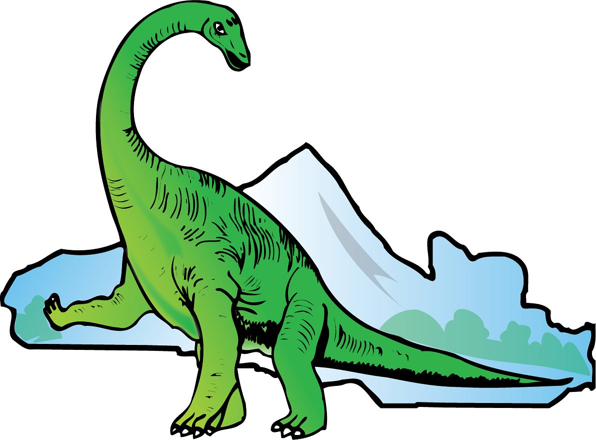 1192x879 Dinosaur Clip Art Black And White