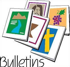 224x214 Free Church Bulletin Clipart