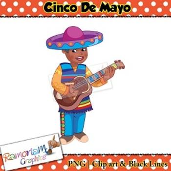 350x350 Cinco De Mayo Clip Art By Ramonam Graphics Teachers Pay Teachers