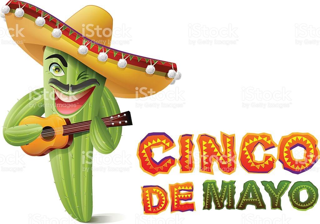1024x716 Free Cinco De Mayo Clip Art Cinco De Mayo Mexican Cactus