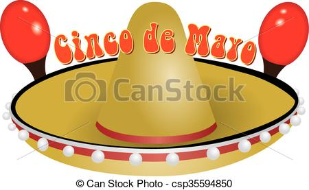 450x277 The National Holiday In Mexico, Cinco De Mayo. It Is Clipart