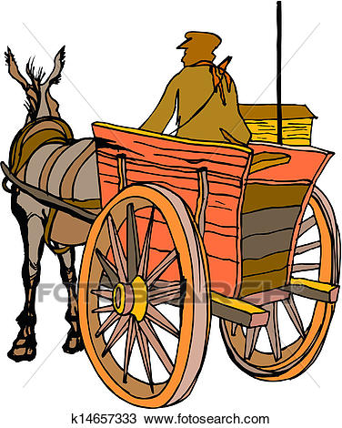 376x470 Horse And Wagon Clipart Amp Horse And Wagon Clip Art Images