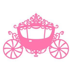 300x300 Svg File Princess Carriage Cameo Silhouette