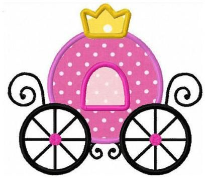 410x365 60 New Princess Carriage Template Template Free